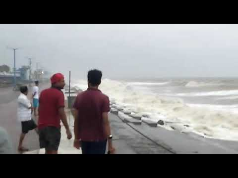 Cyclone Fani makes landfall on the Odisha coast.