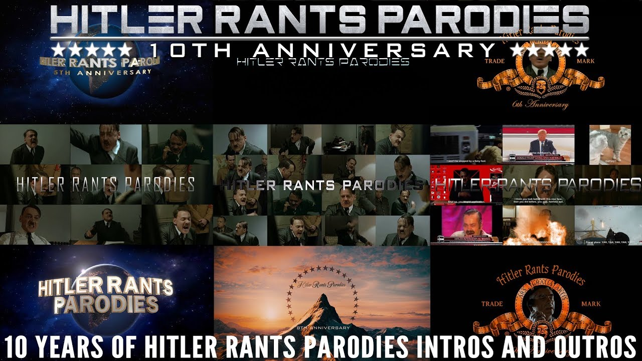 10 years of HRP Intros and Outros