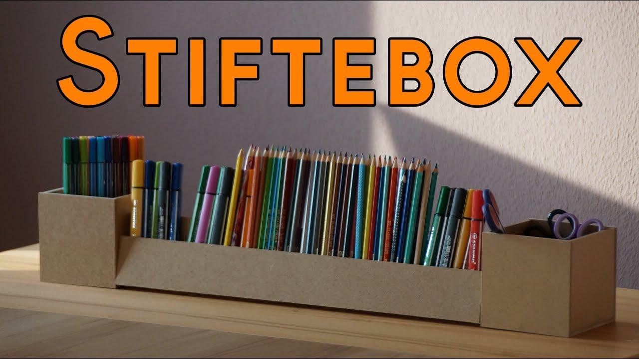 Basteln Mit Holz Für Kinder Stiftebox Oder Als Deko Tischdeko