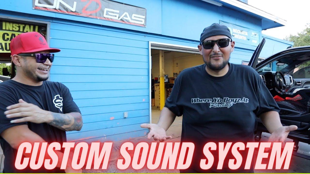Super LOUD sound system on Single cab Z71!