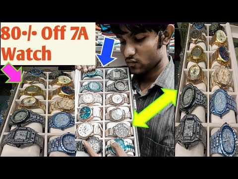 Mumbai Biggest 80•/• Off On Branded 7A Quality Watches | Vaibhav Vkay