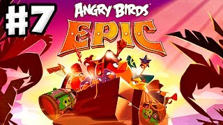 Angry Birds Epic - Gameplay Walkthrough Part 7 - Ghost Boss! (iOS, Android)