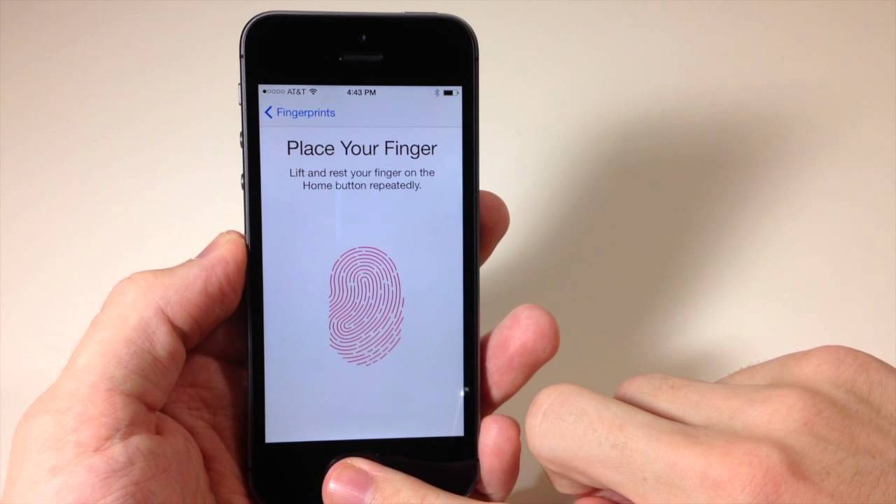 Setup Id Youtube Scanner Touch To 5s On - How Iphone fingerprint