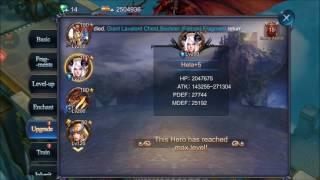Goddess: Primal Chaos +118922 power in 5 mins [HD]