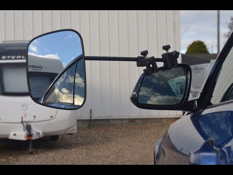 Milenco Grand Aero 3 Towing Mirrors First Set Up