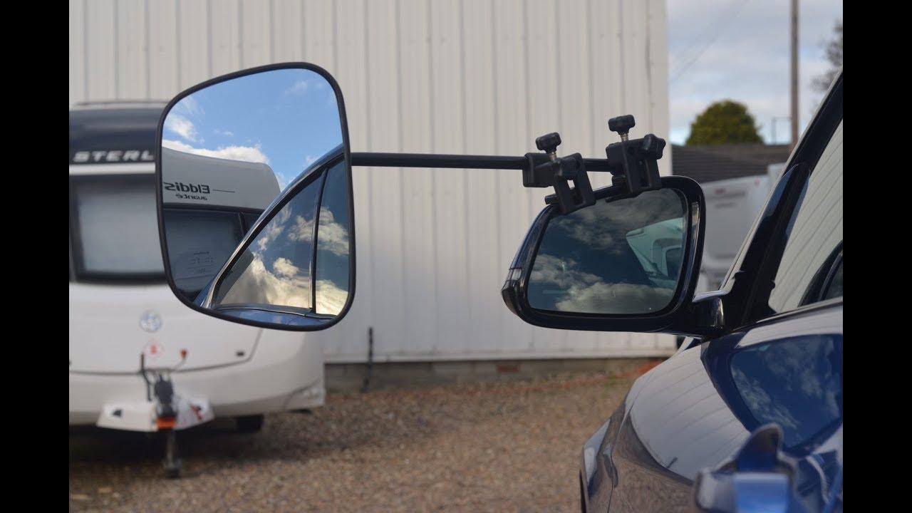 MILENCO Flat Rear View Mirror