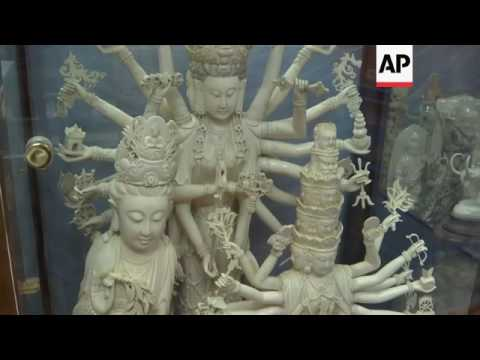 Hong Kong ivory carvers suffer as ban nears