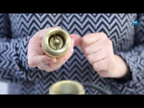 Обратный клапан для насоса водолей