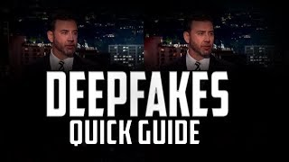 A Quick Guide to Deepfakes