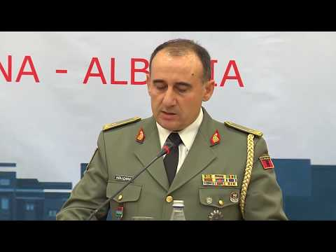 NATO Military Committee: 9-16-17. Chiefs of Defense Hold Joint Press Conference In Albania.