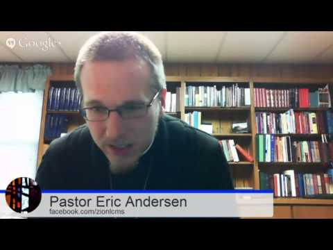 On the Divine Call, with Pr Eric Anderson and Pr Matt Richards