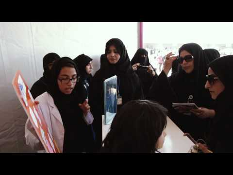 Health, Fun and Fitness festival. A UAE Ministry of Education initiative.