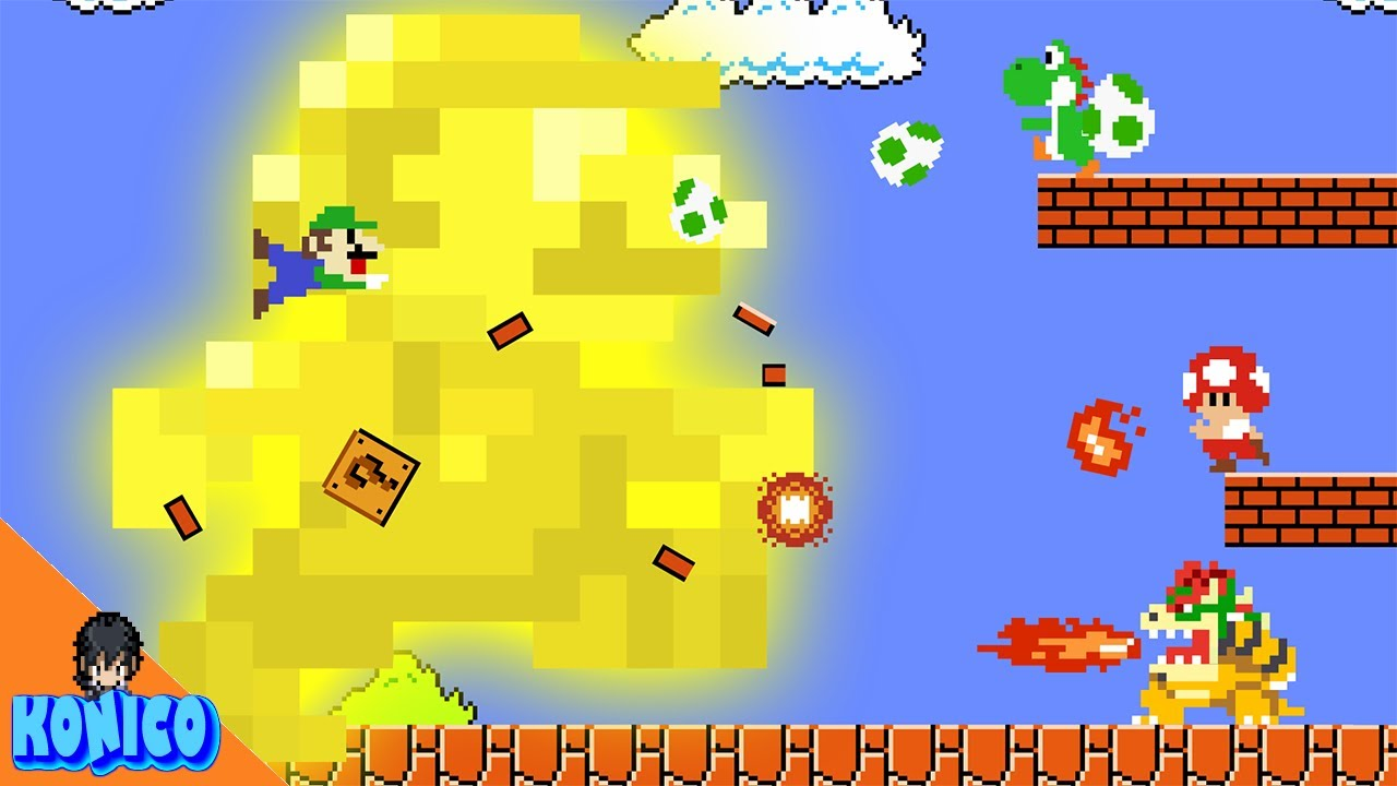 Mario's Power-Up Mix Up Calamity