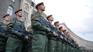 Репетиція військового параду до Дня Незалежності (2015)