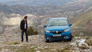 Renault Logan 2014 Тест-драйв. Игорь Бурцев.