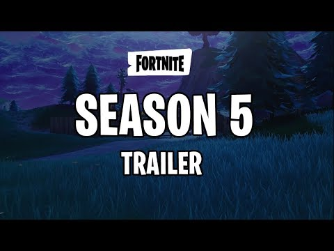SEASON 5 TRAILER - Fortnite