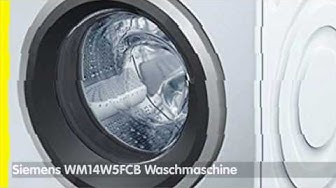 Siemens WM14W5FCB Waschmaschine