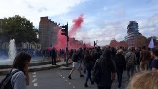 Manifestation contre la Loi Travail 2017 - Rennes - 21 Septembre 2017 - 02