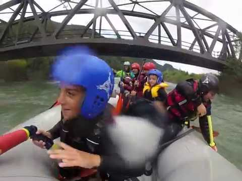 Rafting Fun in SouthTyrol with the Kids :-)