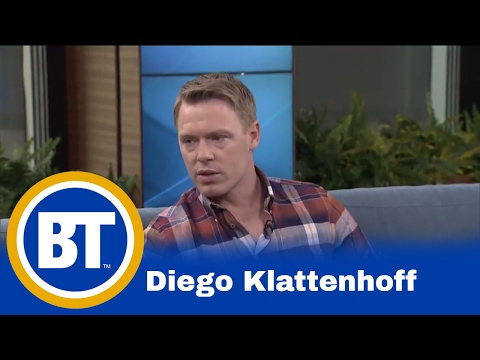 Diego Klattenhoff talks about his role in 'The Blacklist'