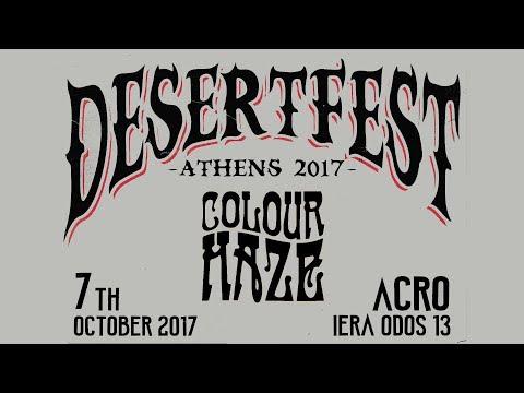 Colour Haze - DesertFest Athens (full) @ Acro 07/10/2017
