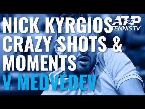 Crazy Nick Kyrgios Shots And Moments In Win Over Medvedev | Rome 2019