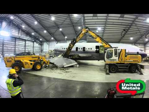 United Metals - Aircraft Demolition and Recycling