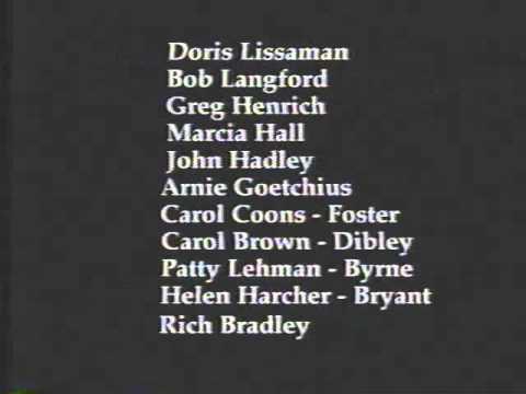 Chatham High School (NJ) Great Reunion 1997 Video Credits