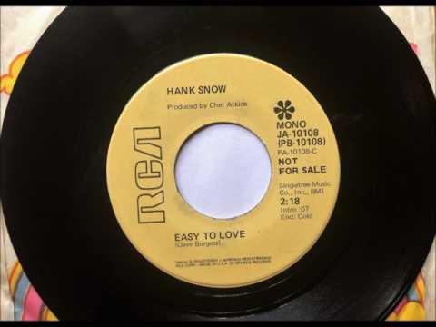 Easy To Love , Hank Snow , 1974