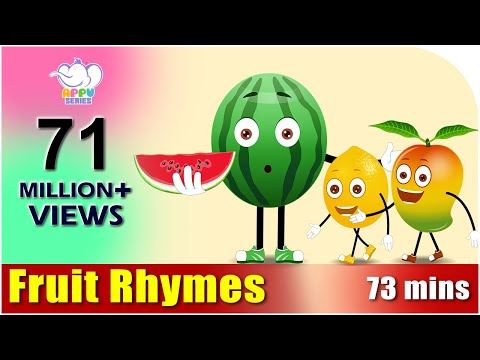 Thumbnail: Fruit Rhymes - Best Collection of Rhymes for Children in English