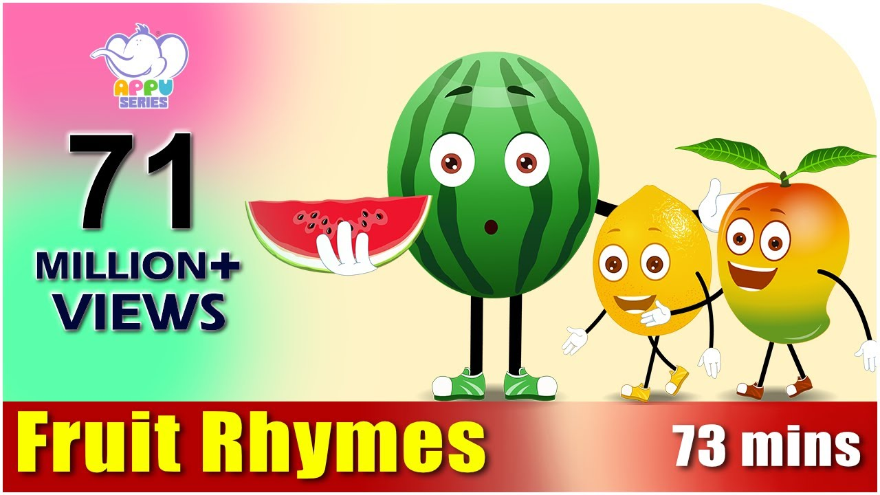 fruit rhymes best collection of rhymes for children in english youtube - Pictures For Children