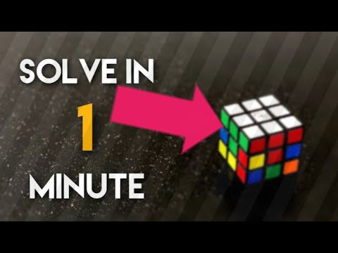 Download HOW TO SOLVE A RUBIK'S CUBE IN A MINUTE | Rubik's cube | Rubik cube tutorial | 3x3 Rubik's cube |