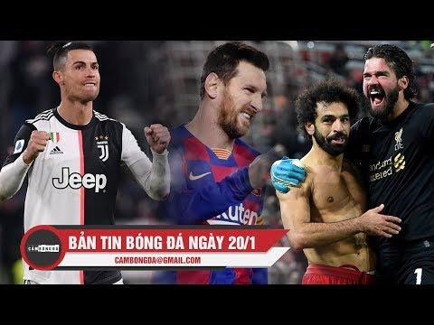 Bản tin Cảm Bóng Đá ngày 20/1 | Liverpool dễ dàng hạ MU, Messi và CR7 cùng tỏa sáng