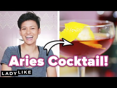 We Made Cocktails According To Our Zodiac Signs • Ladylike