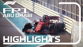 2019 Abu Dhabi Grand Prix: FP1 Highlights