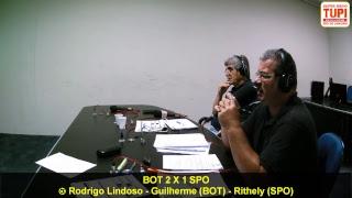 Botafogo 2 X 1 Sport - 14ª Rodada - Brasileirão - 17/07/2017