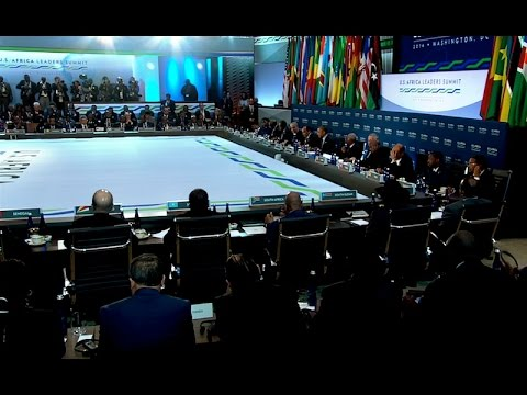 President Obama Participates in the U.S.-Africa Leaders Summit Session