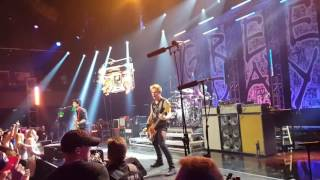 """Green Day LIVE at iHeart Theater """"Burnout"""""""