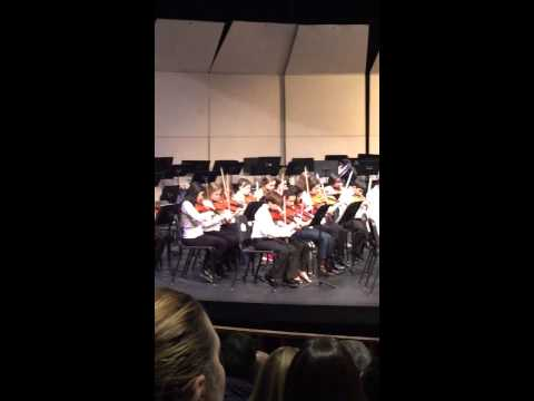 Strath Haven Middle School Orchestra Radioactive