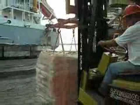"HEYTOR GUSMÃO - M/V ""Frintereems"" - Nassau Cement Loading operation"