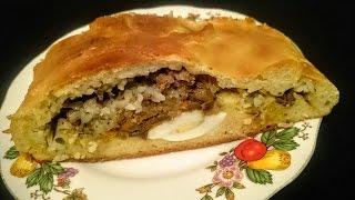Вкусный Пирог Кулебяка рецепт Секрета приготовления пирога с начинкой