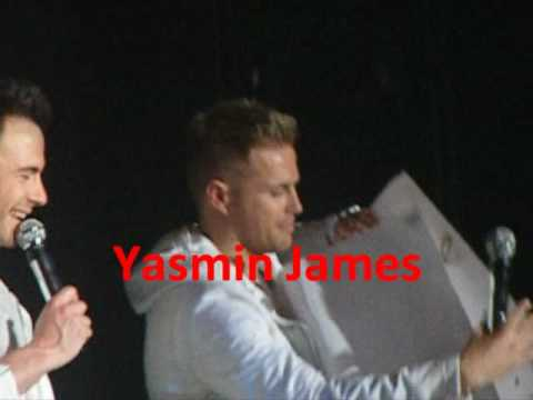 Nicky Byrne Speech Newcastle - Westlife Are Fat