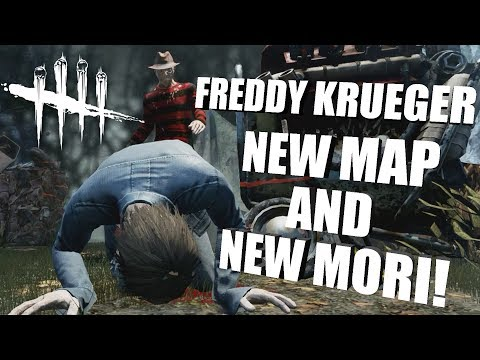 NEW MAP AND MORI!   Dead By Daylight FREDDY KRUEGER