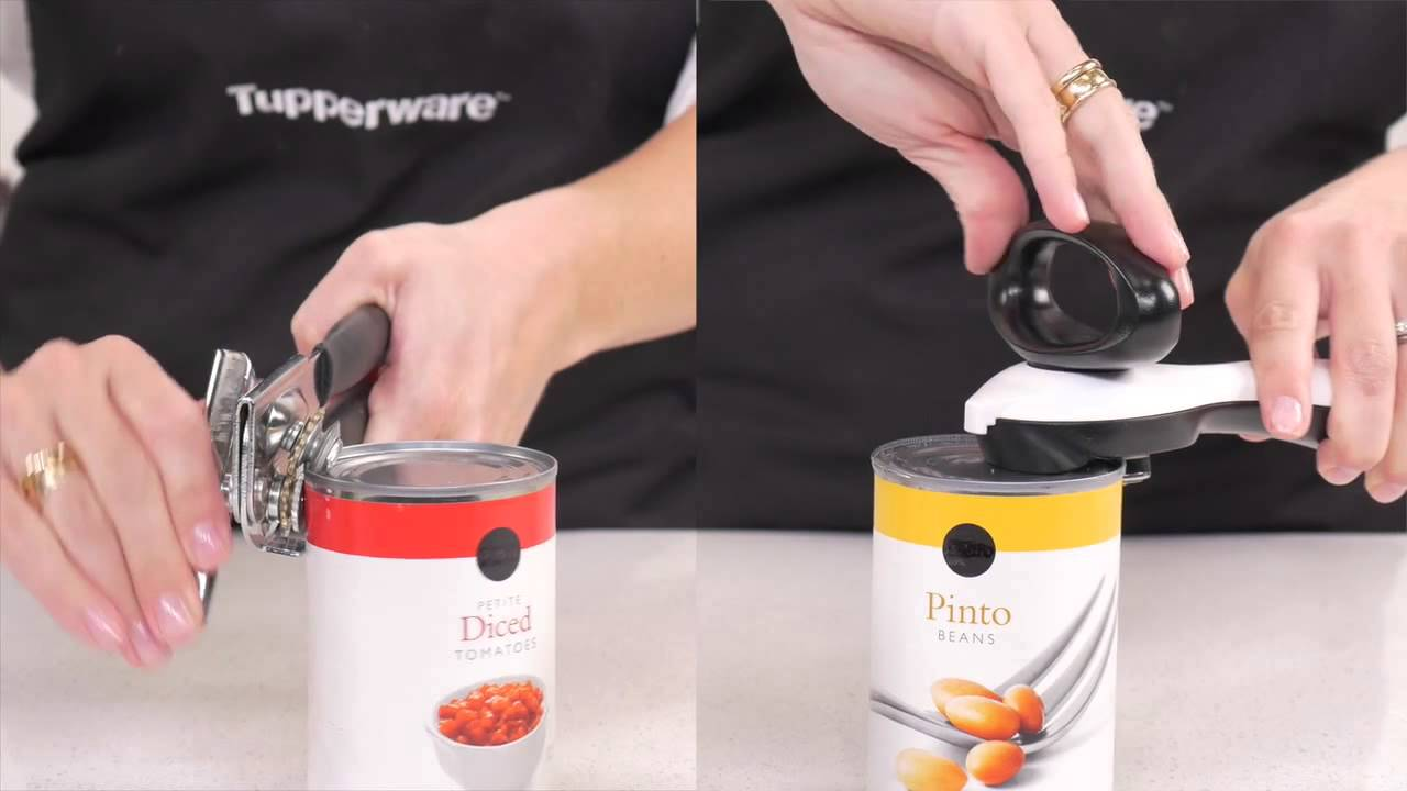 Tupperware Can Opener Youtube