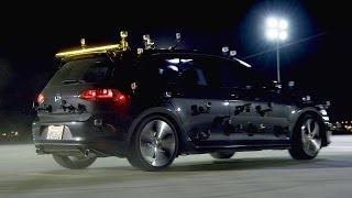 Golf GTI Paints with Light! - Motor Trend presents The Golf GTI Project - Captured With GoPro