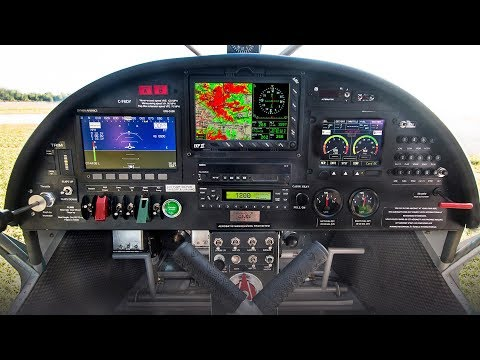 Instrument panel choices for the STOL CH 750 Super Duty