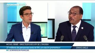 Michel Sidibé : Vers un vaccin contre le VIH, les derniers chiffres