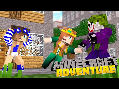 Minecraft-Little Carly Adventures-THE JOKER KIDNAPS MY MOM!!