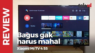 Review Smart TV Xiaomi Mi TV 4 55 Indonesia