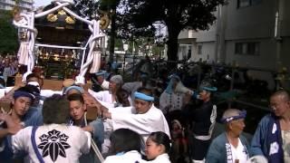まつり巡行記<申> 2013年7月21日 白旗祭りは昔から夏の景物で7月15...